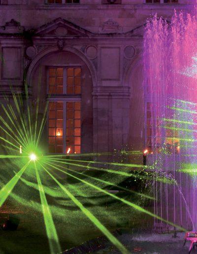 show laser et eaux d'artifices