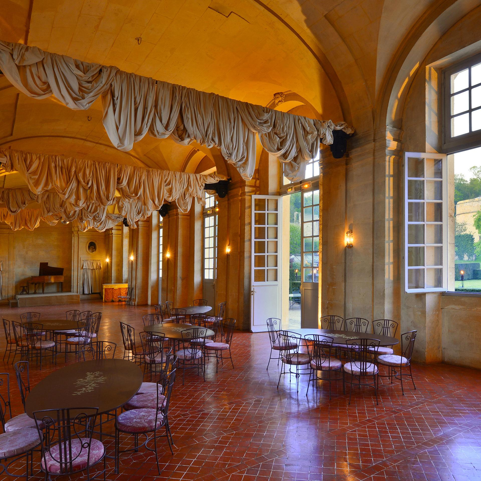 Une des salles historiques de la Renaissance du lieu