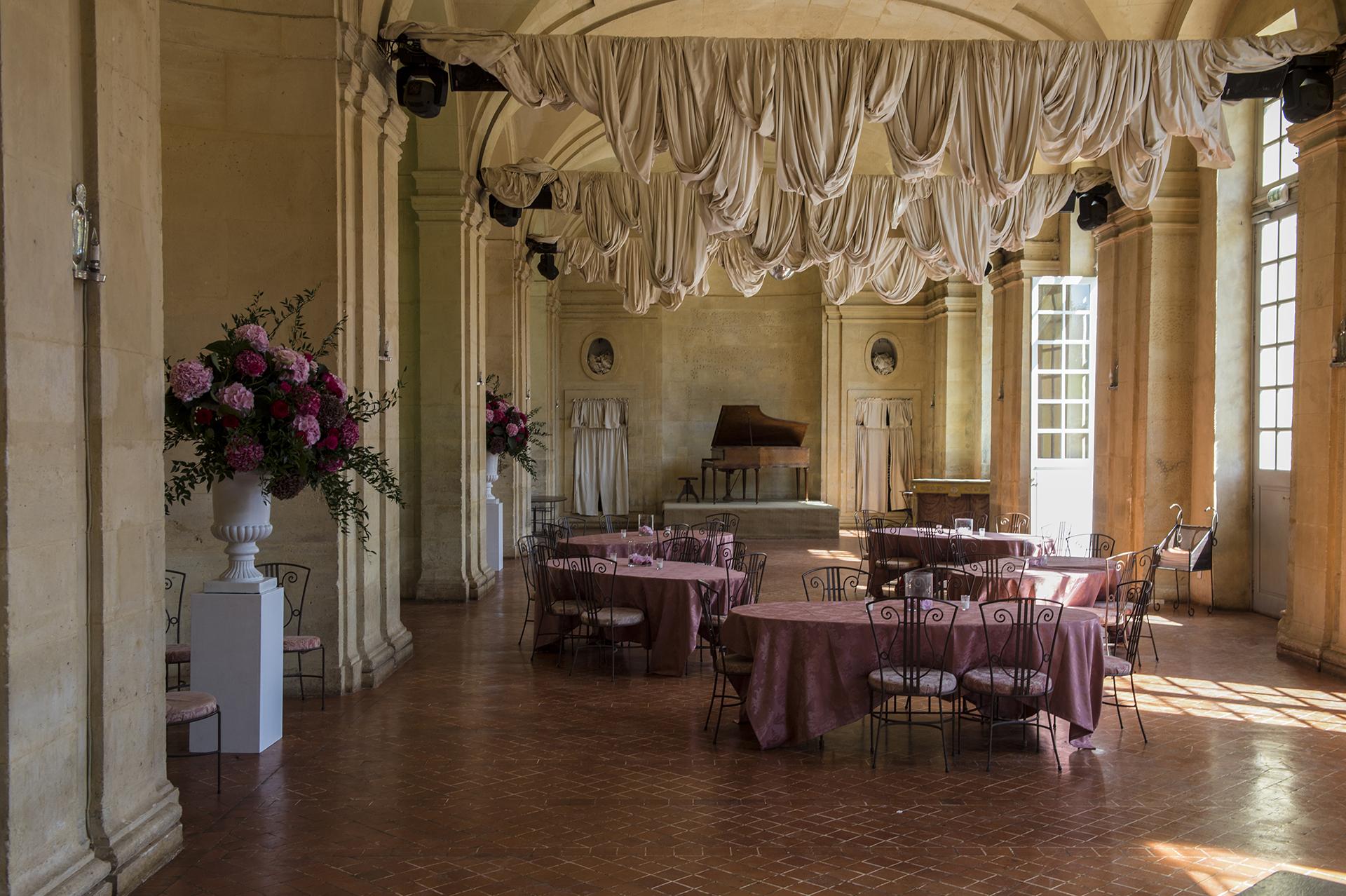 mariage covid : galerie du château